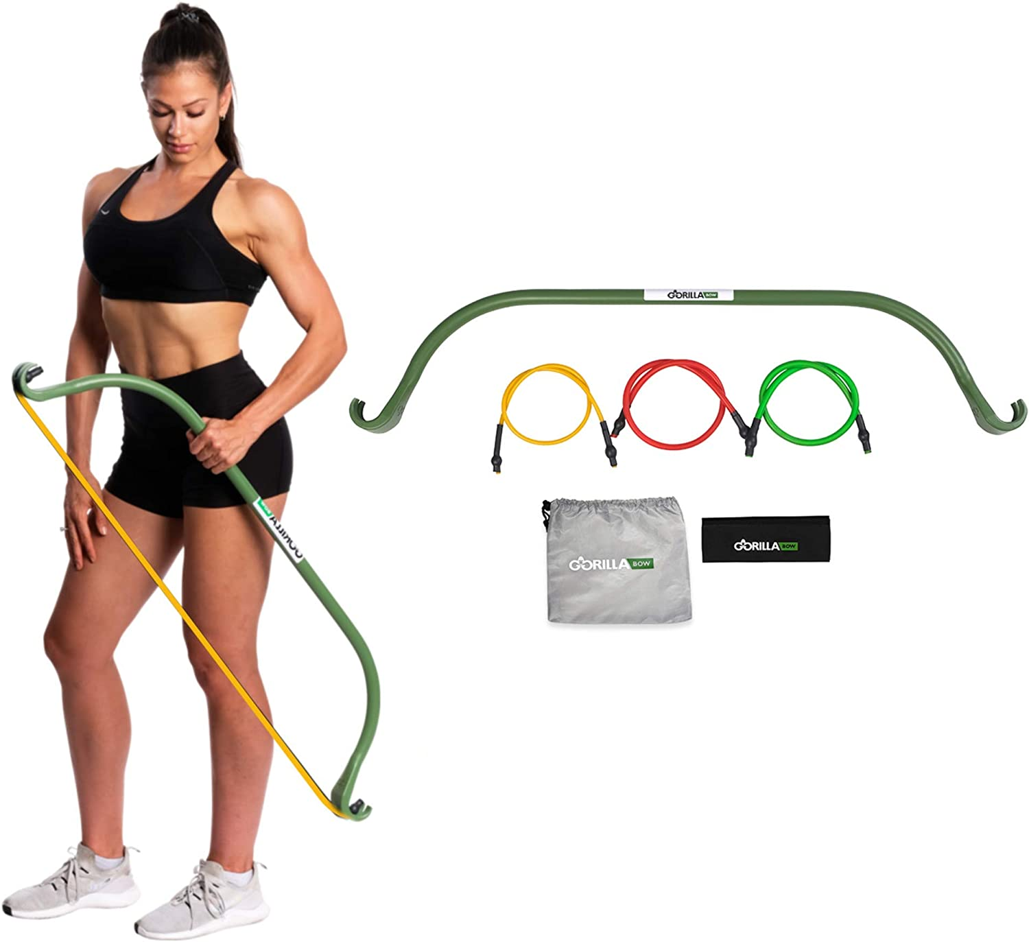 Lite Gorilla Bow Portable Home Quantity limited Gym Bands and At the price Bar Syst Resistance