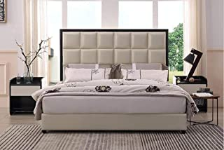 My Aashis Modern Styles Genuine Leather Soft Bed for Home Or Hotel Furniture