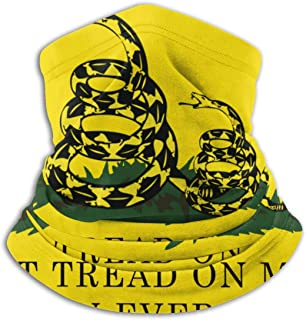 Don't Tread On Me Or My Son Ever Again Snake Fleece Neck Gaiter Warmer Winter Windproof Ski Face Mask Balaclava Half Mask For Women Men