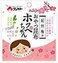 マツモト ホッペちゃん梅おやつ昆布(6g×6袋入)