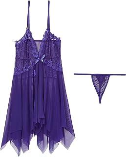 Lingerie Set for Women - Purple