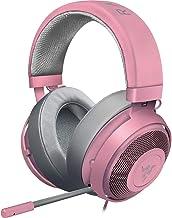 Razer Kraken Quartz Pink ゲーミングヘッドセット 3.5mm 冷却パッド PS4 PC Switch スマホ【日本正規代理店保証品】 RZ04-02830300-R3M1