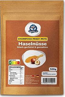 Premium gemahlene Haselnüsse frisch geröstet - 500 g - Low Carb Mehlersatz - Haselnussmehl gemahlen