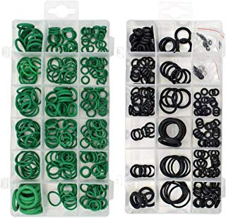 495PCS 36 Sizes Gydandir Rubber O-Ring Sealing Gasket Washer Seal Assortment Set for Professional Plumbing, Automotive, Mechanic,Repairs,Air or Gas Connections