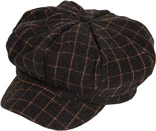 PanPacSight Boys Vintage Newsboy Hat Tweed Flat Plain Blank Beret Cabbie Kids Pageboy Cap
