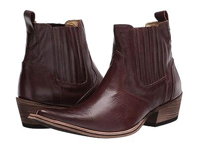 Massimo Matteo El Padrino Pointy Toe Boot (Cafe Leather) Men