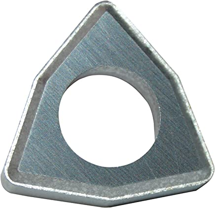 UD5CT Grade 0.004 Corner Radius 0.156 Inscribe Circle Size Pack of 10 0.040 Thickness 15 Degree Positive Clearance Angle Ultra-Dex CDHB 1.20.60.5 UD5CT 80 Degree Diamond Insert