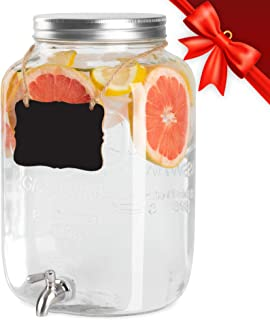 acrylic beverage dispenser with spigot