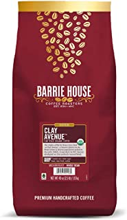 Sponsored Ad - Barrie House Clay Avenue Whole Bean Coffee, 2 lb Bag | Fair Trade Organic Certified | Medium Roast Coffee |...