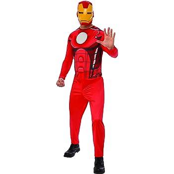 Marvel - Disfraz de Iron Man para hombre, Talla M adulto (Rubies ...