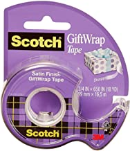 Scotch GiftWrap Tape, Dispensered Roll 19mm x 16.5m - 1 roll