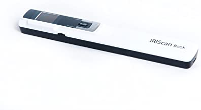 $114 » IRIScan Book 3 Wand Color Hand Held Portable Scanner, Battery AAA, 1 Click scan to PDF, Scan to PDF/Word/EXCEL/JPG, Full 1...