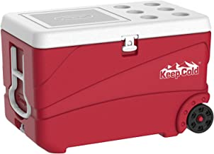 Cosmoplast Keepcold Deluxe 84 Liter Ice Box - Red