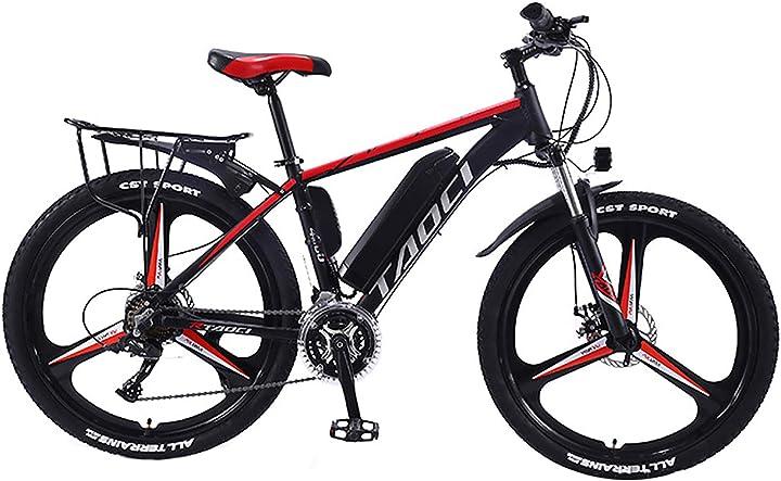 Bicicletta elettrica in lega magnesio hyuhome 26
