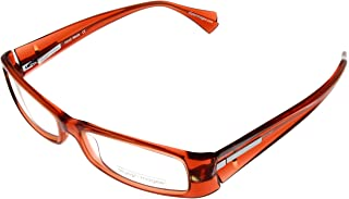 69b68d2f2d Alyson Magee Prescription Eyewear Frames Unisex AM605-14 Orange Red
