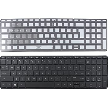 Givwizd Replacement Backlit Keyboard for HP Pavilion 15-p116nz 15-p117na 15-p117ne 15-p121ne 15-p121ng 15-p122ne 15-p123nf 15-p125ng 15-p125nr 15-p131na 15-p132nd 15-p133ne Without Palmrest