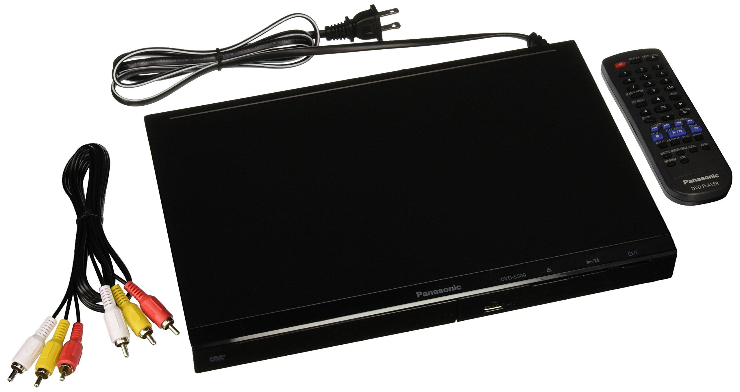 Panasonic DVD S500P K Multi Region Player