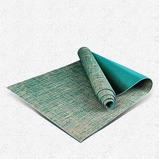 anruo Non-slip Yoga Mat Weight Loss Fitness Pilates Mat Natural Yoga Mat Non-slip Yoga Mat Sports Mat