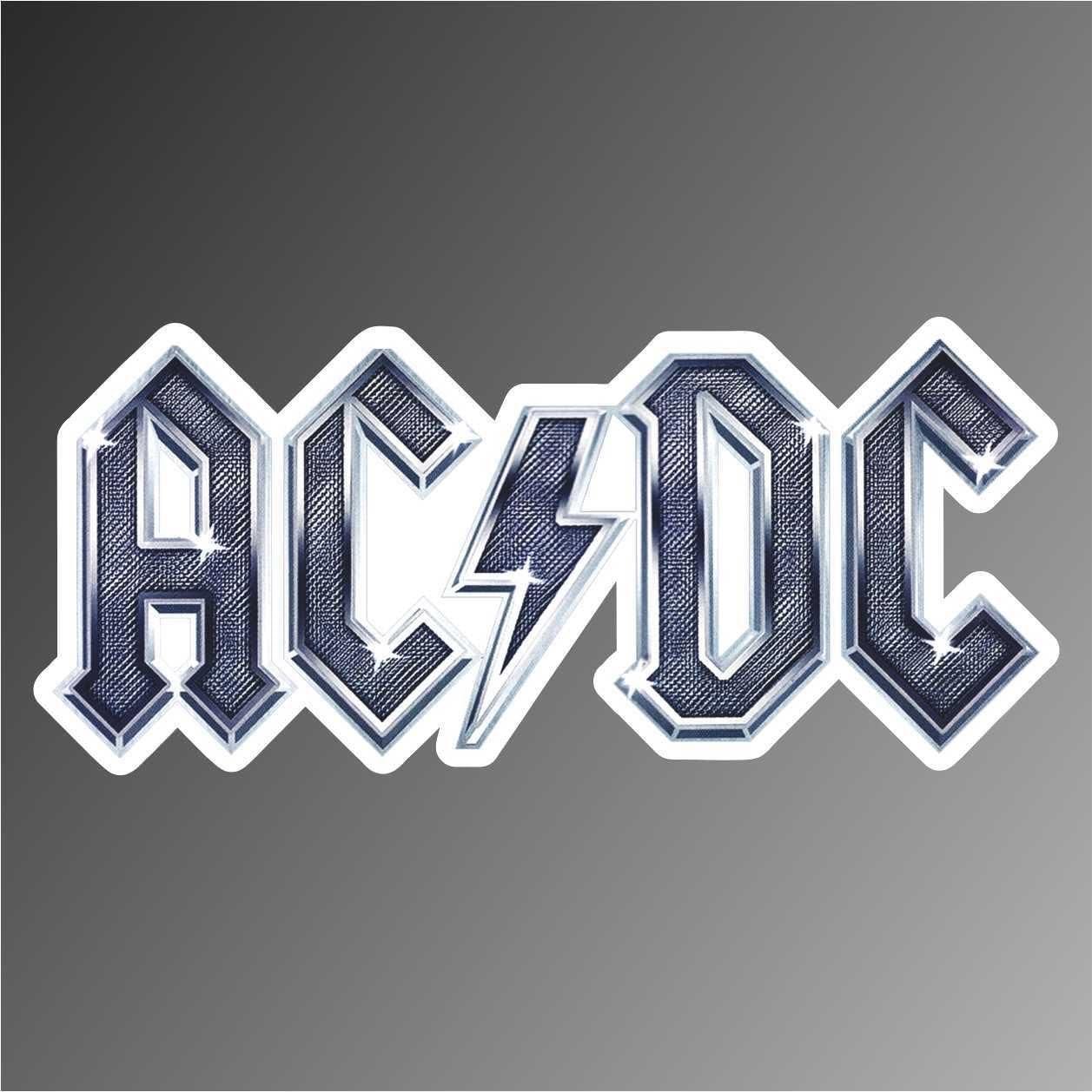 Graphic Lab Aufkleber Sticker Acdc Ac Dc Hip Hop Rap Jazz Hard Rock Metal Pop Funk Sticker Küche Haushalt