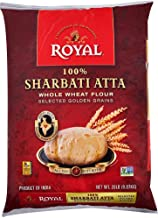 Royal Sharbati Atta Whole Wheat Flour, 4lbs