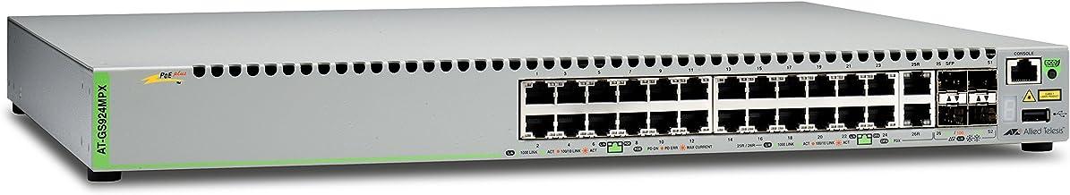Switch Allied Telesis at FS750//24 WebSmart Switch verwaltet