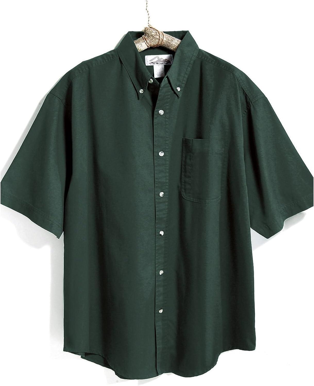 Tri-Mountain Men's Recruit Blend Twill Shirt with Teflon Stain Resistant Finish