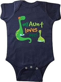 inktastic My Aunt Loves Me Nephew Infant Creeper