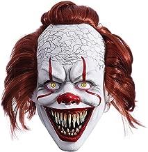 MICG Halloween Scary Killer Clown Mask Sharp Tooth Bloody Adult Horror Joker Demon Cosplay Costume Masks Props