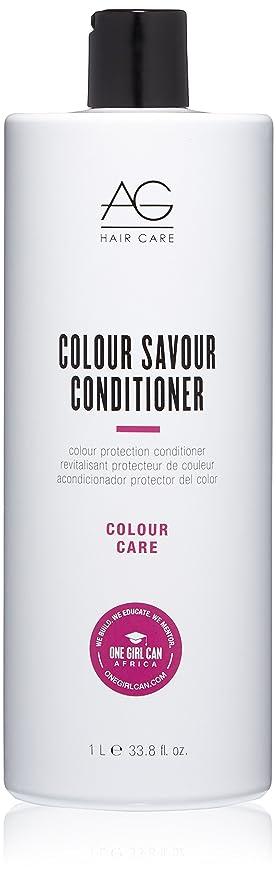 貫通する連帯彼女のAG Hair Colour Savour Colour Protection Conditioner 1000ml/33.8oz並行輸入品