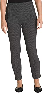 Chico's Women's So Slimming Juliet Textured Dot Ponte Ankle Pants