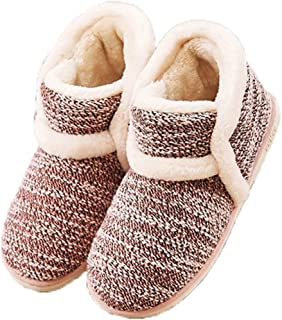 Garatia Winter Vintage Boot Womens Slippers Arctic Solid Indoor Outdoor House Shoes Pink Size: 8-8.5