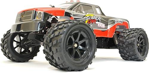 ES-TOYS RC Elektro Monster Truck 1 12 mit 2,4Ghz , 50 km h Terminator von WL Rot