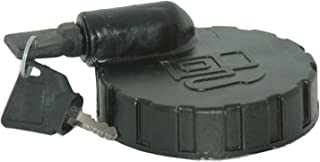 RS Vintage Parts RSV-B00ZLR5L7Y-01192 Big Size Diesel Fuel Tank Side Lock Cover Cap 4'' With 2 Keys For JCB