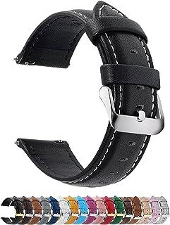 Fullmosa Cinturino 22mm Orologio, Axus Cinturini in Pelle, Compatible con Amazfit GTR 47mm, Huawei Watch GT/GT 2 46mm, Sam...