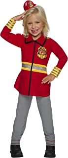 Rubie's Child's Barbie Career Firefighter Costume, Medium
