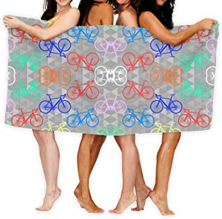 Brighter Bikes Sport Towel - Travel Towels - 100% Microfiber - Gym - Beach - Surf - Camping - Backpacking- Ultra-Light - Fast Drying