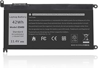 Battery Replacement for DELL WDXOR 42 WH 11.4V Compatible with Dell Inspiron 13 5368 5378 15 5565 5567 5568 5578 17 5765 5...