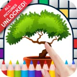 Bonsai Trees Color by Number - No Ads Pixel Art Game - Coloring Book Pages - Happy, Creative & Relaxing - Paint & Crayon Palette - Zoom in & Tap to Color - Share Creations with Friends!
