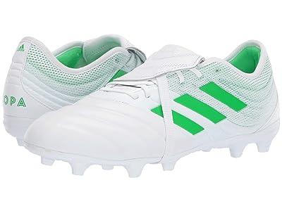 adidas Copa Gloro 19.2 FG (Footwear White/Solar Lime/Footwear White) Men