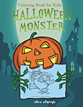 Halloween Monster: Coloring Book for Kids: 2