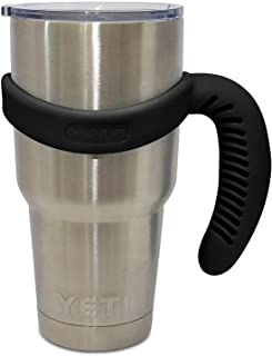 Handle for YETI Cup 30 oz - Ozark Trail - Beast - Atlin & Other 30 oz Tumblers. CHILLOUT LIFE Comfortable Handle for 30 oz Tumbler BPA-Free (Black Handle Only)
