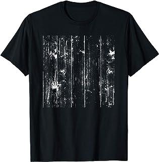 Patrón gráfico blanco de diseño minimalista Camiseta