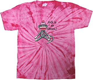 Cancer Awareness T-Shirt Sock It to Cancer Tie Dye