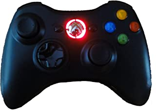 Black Xbox 360 Modded Controller (Rapid Fire, Red LEDs) COD Ghosts, Call of Duty Black Ops 2, MW2, MW3, Halo, GTA..many more