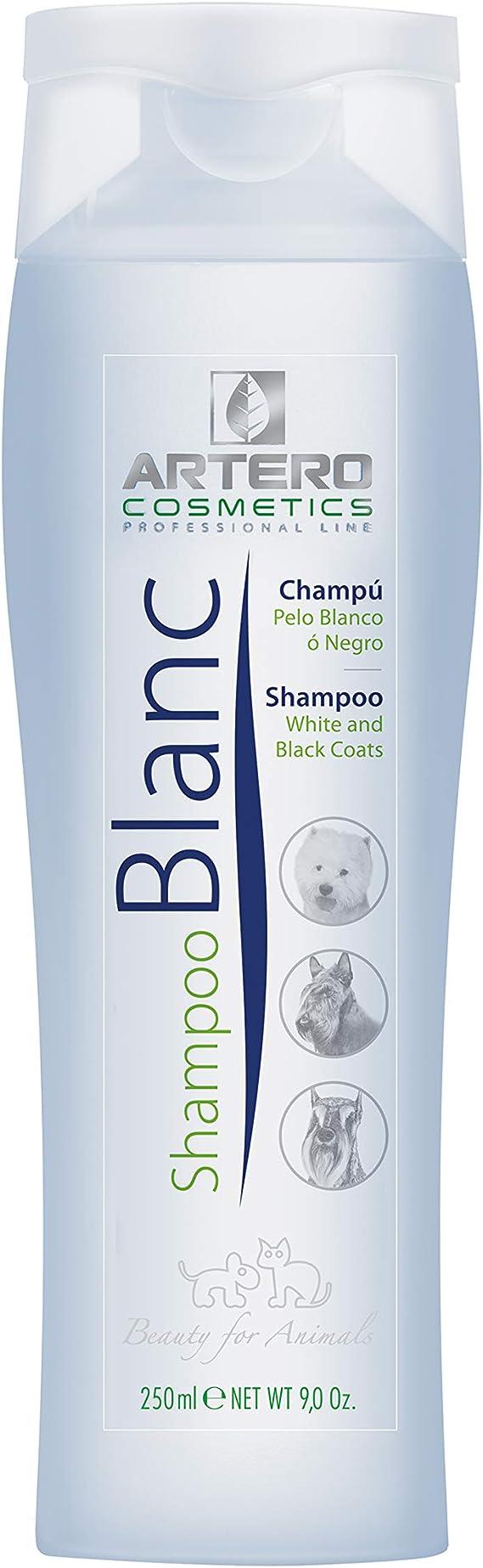 Artero Blanc, Champú para Perros de Pelo Blanco o Negro. (250 ...