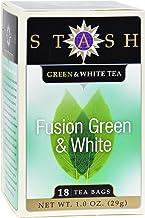 Stash Tea Green and White Fusion - 18 Tea Bags - Case of 6