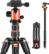 "GEEKOTO 58"" DSLR Tripod, Compact Aluminum Alloy Lightweight Camera Tripod with 360 Degree Panorama Ball Head, Professional..."