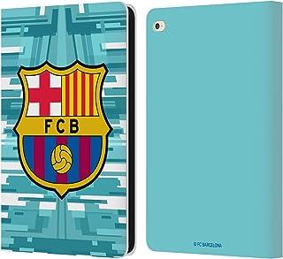 Head Case Designs Oficial FC Barcelona Portero Primera equipación 2019/20 Crest Kit Carcasa de Cuero Tipo Libro Compatible con iPad Air 2 (2014)