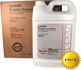 Genuine Nissan OEM Green Antifreeze/Coolant 999MP-AF000P (Case of 6)