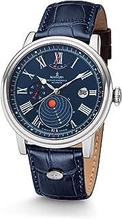 Kronsegler - Kopernikus - Reloj automático, acero, azul, disco con los planetas y el sol